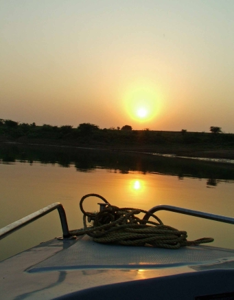 Sunset at Chambal